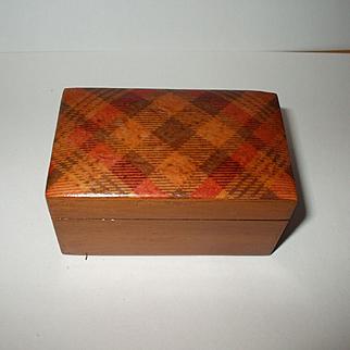 Tartan Ware Box C1880