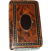 Useful Victorian Writing Accessories  Box In the Form of a Book