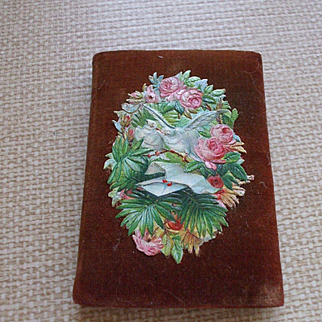 Charming Needlecase with Victorian Scraps