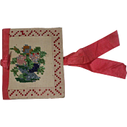 Pretty Victorian Bead work Needle Case 'Given In Love'