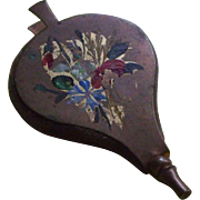 Delightful Antique Pin Cushion in the form of a pair of bellows - Red Tag Sale Item