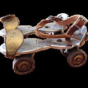 Vintage Clamp-On Roller Skates