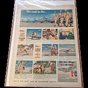 U.S. Air Force Vintage Magazine Advertisement