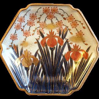Vintage Japanese Porcelain Plate