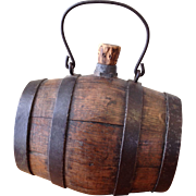 Small French Wine Barrel