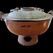Vintage Mongolian Hot Pot