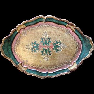 Exquisite Florentine Tray