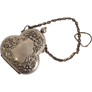 Antique Sterling Silver Dance/ Coin Purse