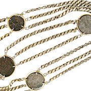 A rare Antique Coins necklace