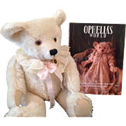 1984 Steiff Ophelia, very special edition.&book