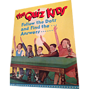 1942 The Quiz Kids ,Follow the Dots, unused