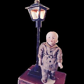 "Vintage handmade garden lamp.16"""