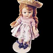 Painted lash strung 50' Ginny doll