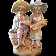 Large bisque Heubach type children
