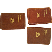 Miniature Shakespeare books for dolly