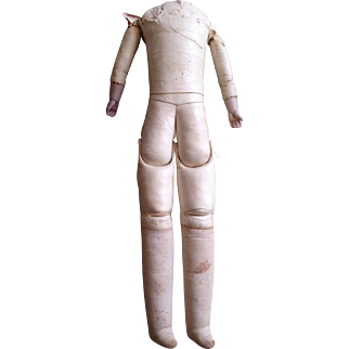 """18"""" doll body for China or shoulderhead."""