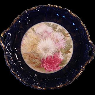 Bavarian chrysanthemums platter