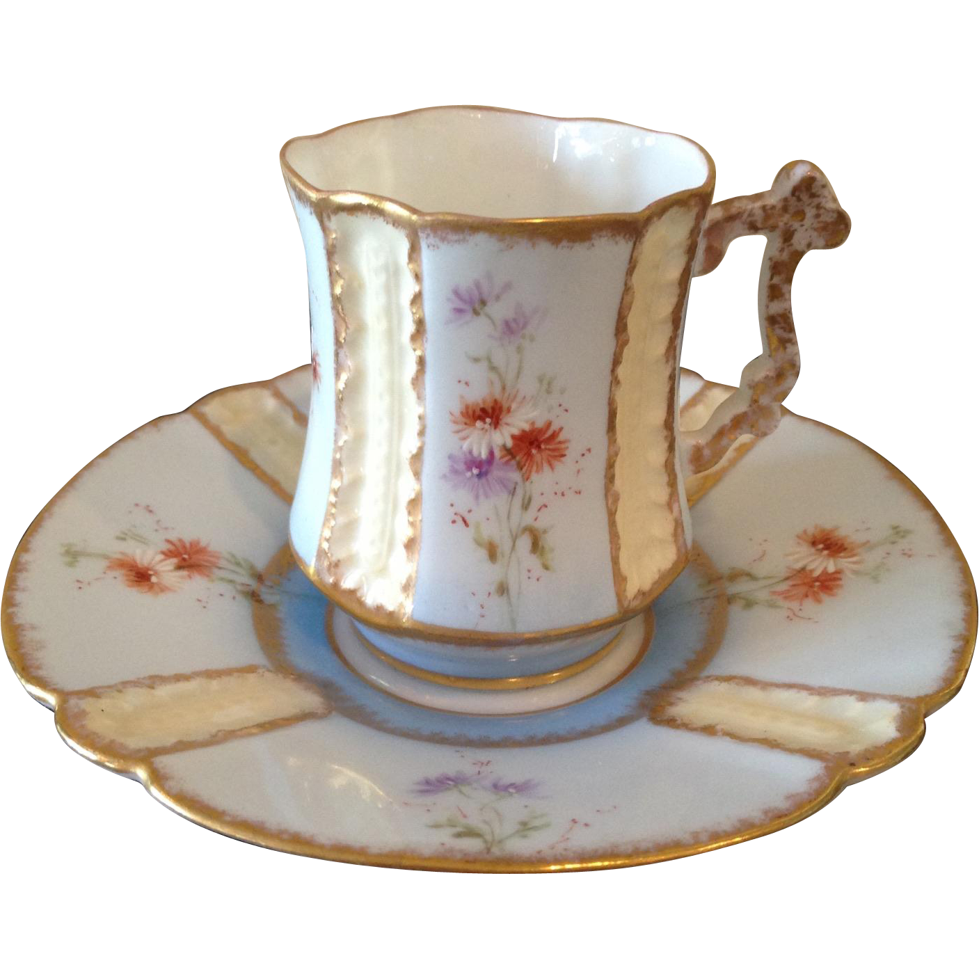 Early Limoges cup & saucer.