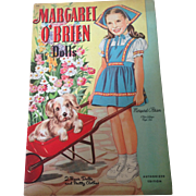 Minty original Margaret O'Brien paper dolls