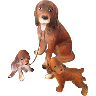 LIPPER & Mann Spaniel mom and pups,