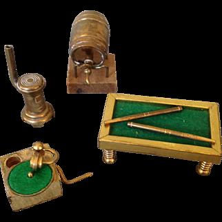 Brass Rumpus room Dollhouse miniatures