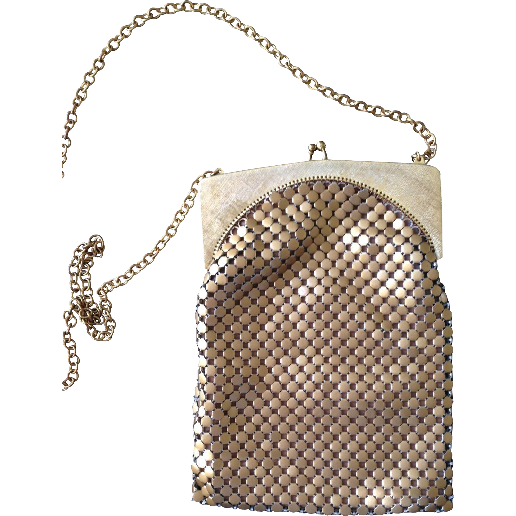 Vintage Whiting& Davis mesh bag