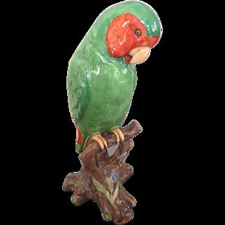 Vintage Spode Parrot figurine