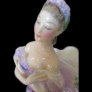 Mint, Royal Doulton the ballerina.