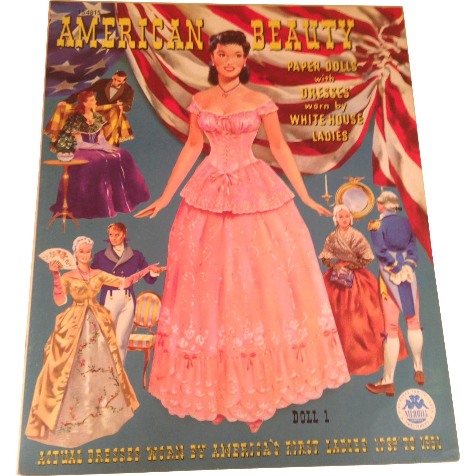 Mint 1951 American Beauty Paper dolls