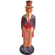 Rare vintage paper pulp Uncle SAM