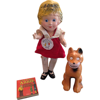 Wonderful 1936 Orphan Annie & Sandy!
