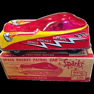 Vintage MIB space Rocket Patrol