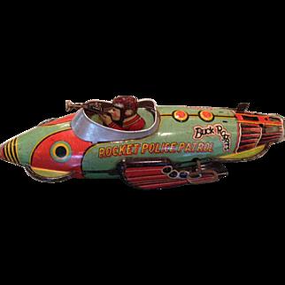 1927MARX  Buck Rogers Rocket Police Patrol