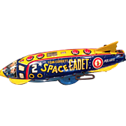 1950's Tom Corbett Space Cadet space ship