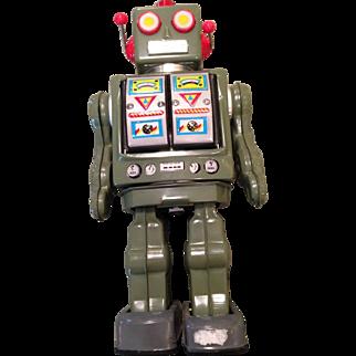 Vintage metal robot