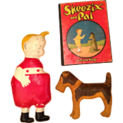 1920's Skeezix and Pal and book