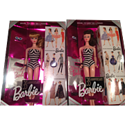 Pair 35th anniversary Barbies