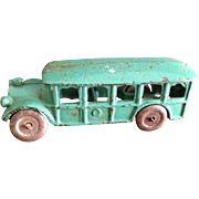 1930's Iron bus, great paint!