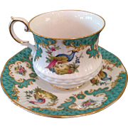 Queens , Rosina  china,  cup& saucer
