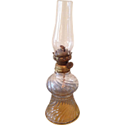 Miniature working oil lamp