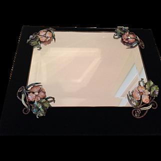 Mint Jay Strongwater ladybug dresser tray!