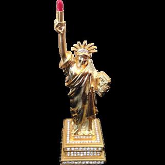 MIB Estée Lauder lady liberty solid perfumes