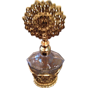 Perfect 24kt plated perfume bottle