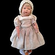 """Rare 11"""" Schoenhut toddler girl."""