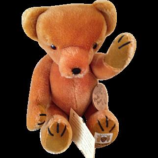 MIB vintage English mohair Bully bear.