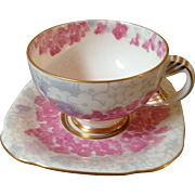 Wedgwoods  Deco Bloom, cup and saucer