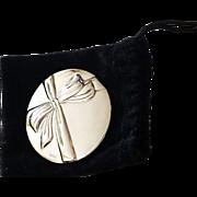 TIFFANY & CO SILVERPLATE mirror handbag vanity accessory