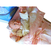 Ideal 1950 Store Mechanical Doll Display Bye Bye Baby Horsman