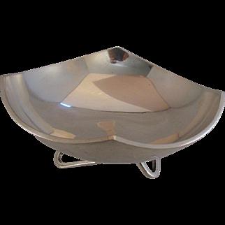 Sterling Silver Mexican Bowl Juvento Lopez Reyes Modernist Design