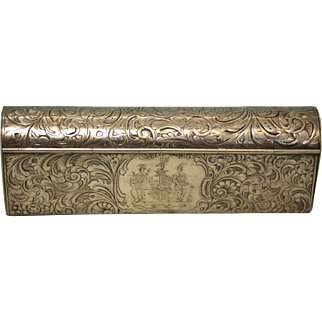 Early 19th Century Pipe Box